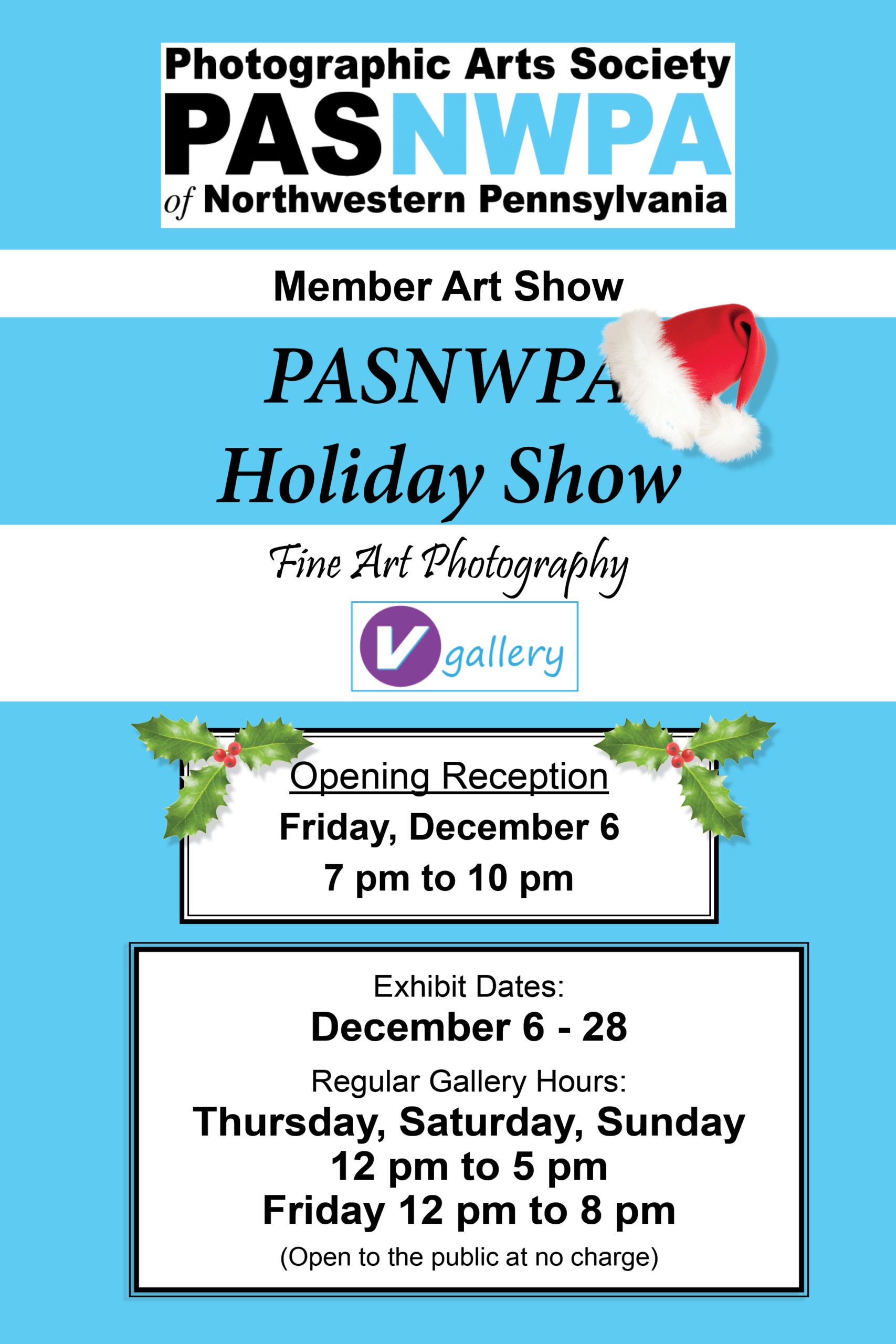V Gallery Holiday Show 2019